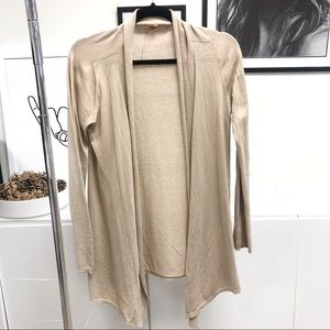 VINCE Cotton and Cashmere Cardigan